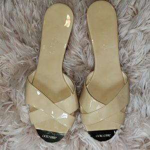 Never Worn Jimmy Choo Leather Sandals